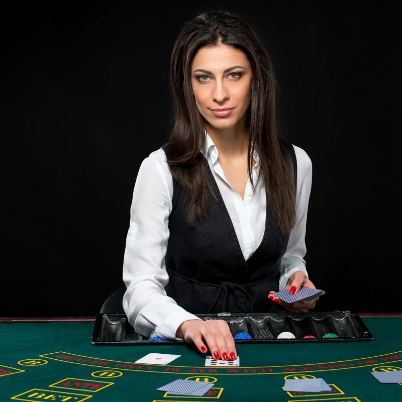 Casino Poker Dealer